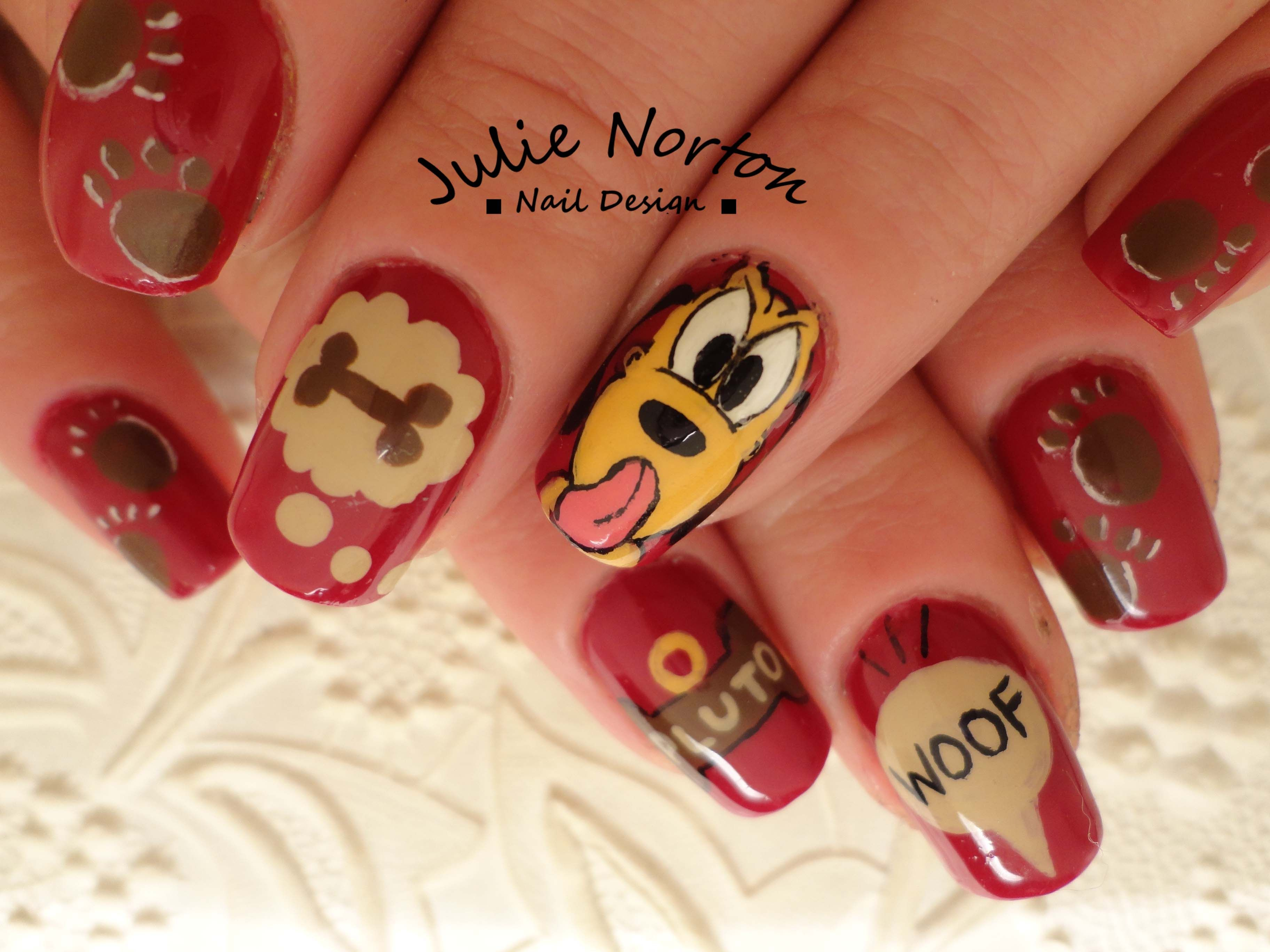 Pluto <3 | Some of my Nail Art | Pinterest