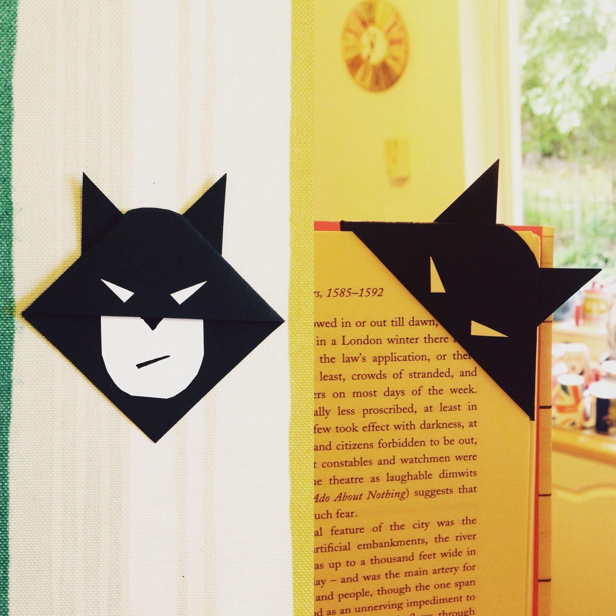 batman bookmark | books! | pinterest | bookmarks, diy bookmarks and