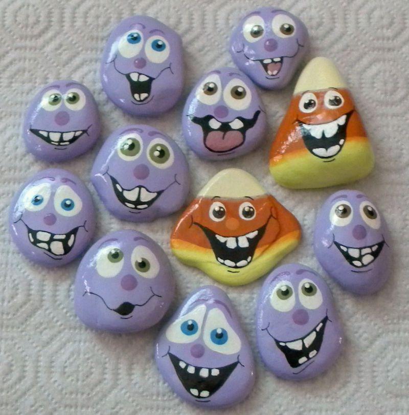 Triff dein neues Hobby: bemalte Steine! - Haus Dekoration Mehr #bemaltekieselsteine