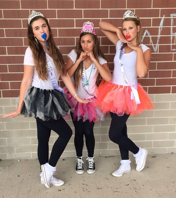 Toddlers and Tiaras for character day Homecoming Pinterest