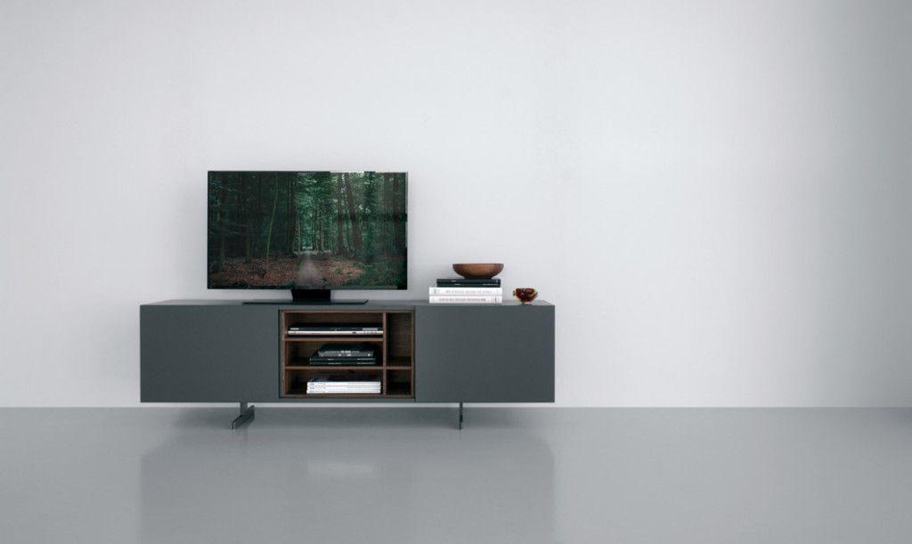 Mobile Porta tv (66.6 x 181 cm) con due ante scorrevoli. Composto ...