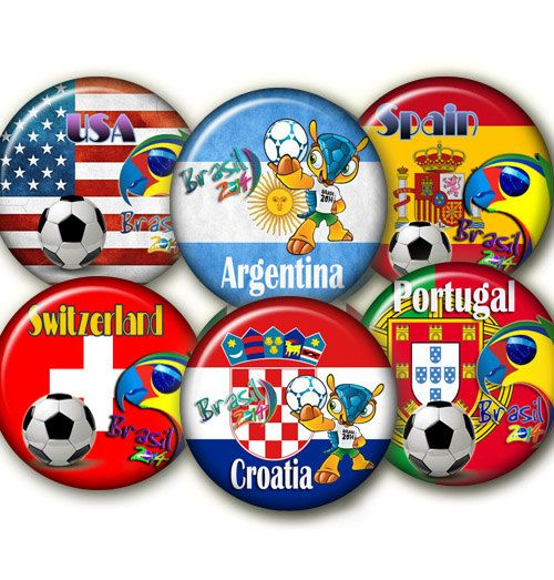 World Cup 2014 B' Digital Collage Sheet 24 by elenis4youbanners, €1.44