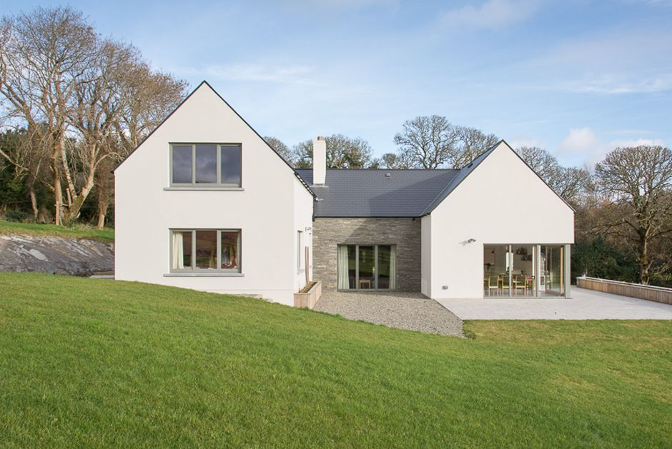 Carryduff house, PPS21 planning, rural architecture Irish \ UK - cout agrandissement maison 20m2