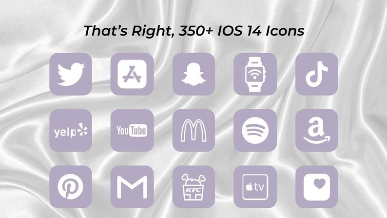 3000 Iphone Ios 14 App Lavender Icons Pack White Aesthetic Etsy Homescreen App Icon Icon Total 8 active wallpaper coupons, promo codes and deals are listed and the latest one is updated on sep 18, 2019 10:45:39 am; pinterest