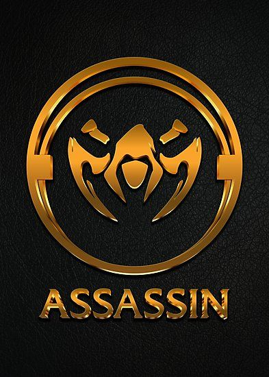 League Of Legends Assassin Gold Emblem By Naumovski -5560
