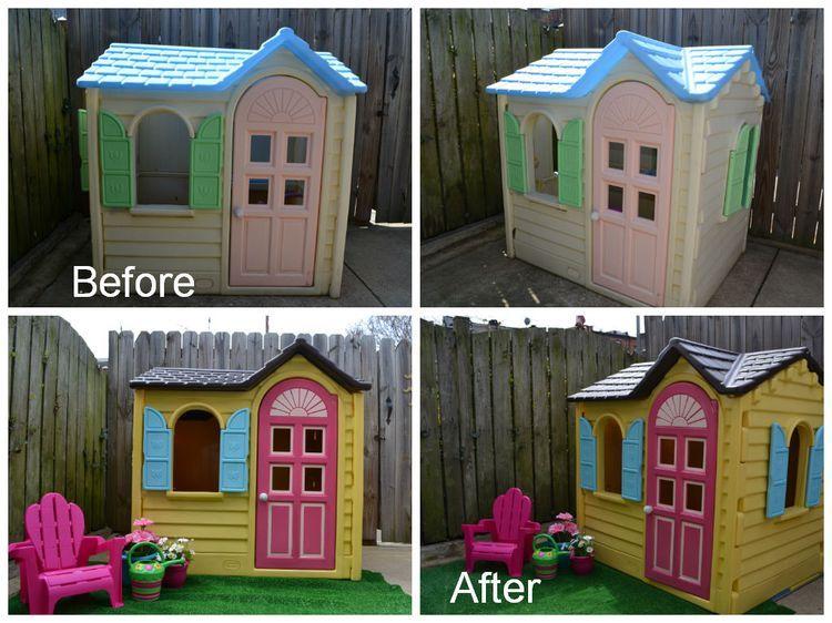 Little Tikes Playhouse, Little Tikes Outdoor House