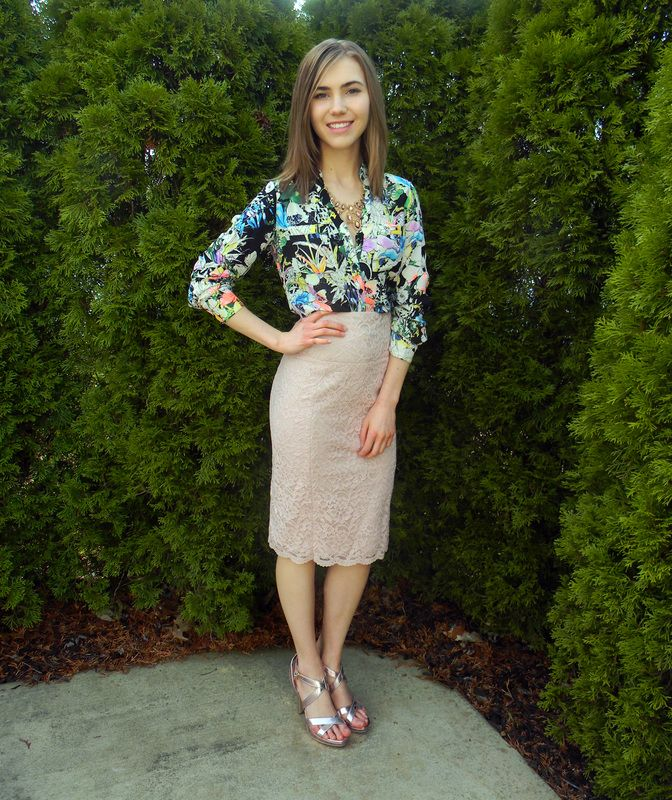 Need a fancy outfit for a special occasion this Spring?! Visit emilyehardt.com to see how I styled this look that can be worn to a variety of springtime events! #StayClassy #fashion #fashionable #fashionista #fashionstyle #style #styles #stylish #stylist #pretty #garment #gorgeous #classic #pretty #ootd #outfit #wiw #blog #blogger #bloggerstyle #fashionblog #blogging #spring #print #colorful #fashionforward #aboutalook #look #model #instafashion