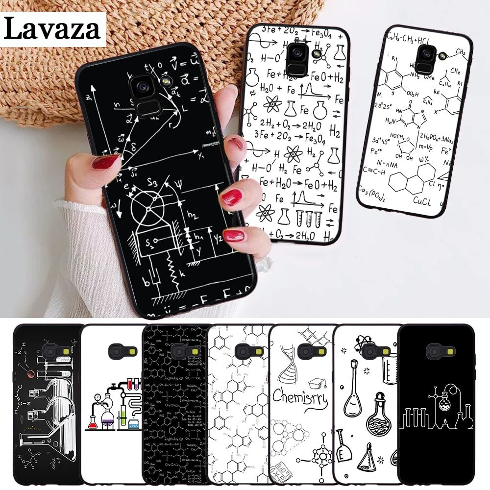 Lavaza Chemistry Drawing Silicone Case For Samsung A3 A5 2016 2017