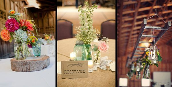 Country wedding centerpieces country and western wedding country wedding centerpieces country and western wedding junglespirit Choice Image