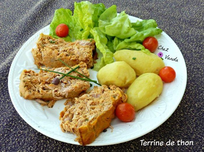 Terrine de thon (+ idée menu à 4SP