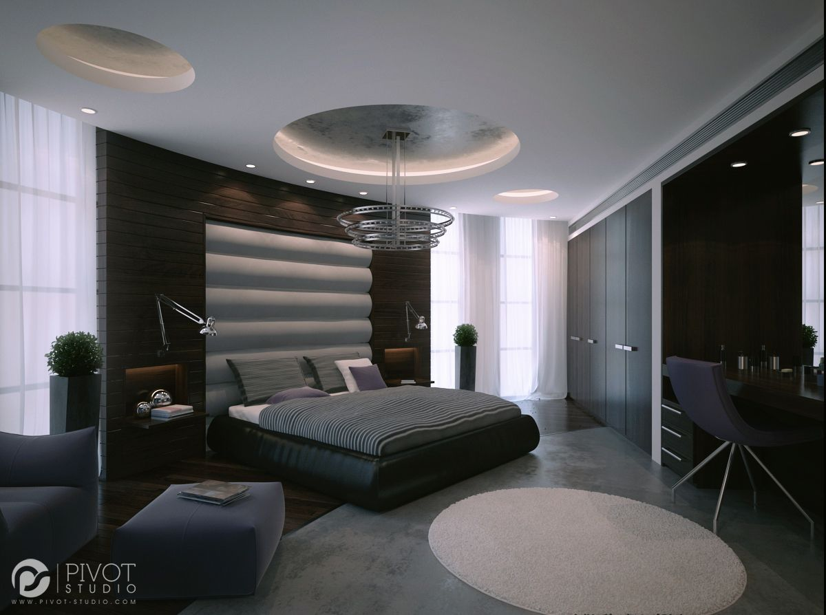 Best Interior Design And 3D Visuals Of Contemporary Bedrooms 400 x 300