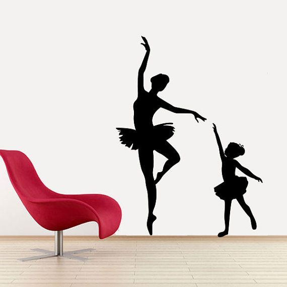 n1348 Details about  /Wall Vinyl Decal Poses Folk Dance Beauty Girl Art Dancer