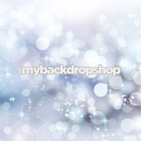 5ft x 5ft Bokeh Photography Backdrop for Photographers - Winter Snow Background for Studio Photography Portraits - Item 415 #backdropsforphotographs