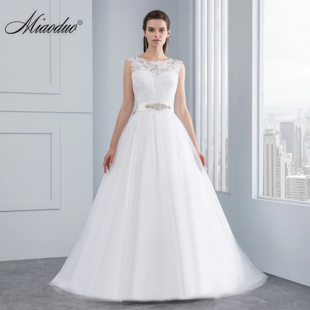 Wedding Dresses Aliexpress Com Buy Miaoduo Wedding Dress New Lace Wedding Dresses Backless Wedding Dress Lace Wedding Dress Vintage