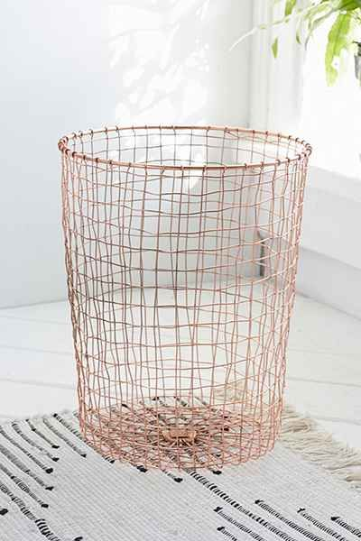 Cabo copper wastebasket urban outfitters for the home pinterest cabo and urban outfitters - Copper wastebasket ...