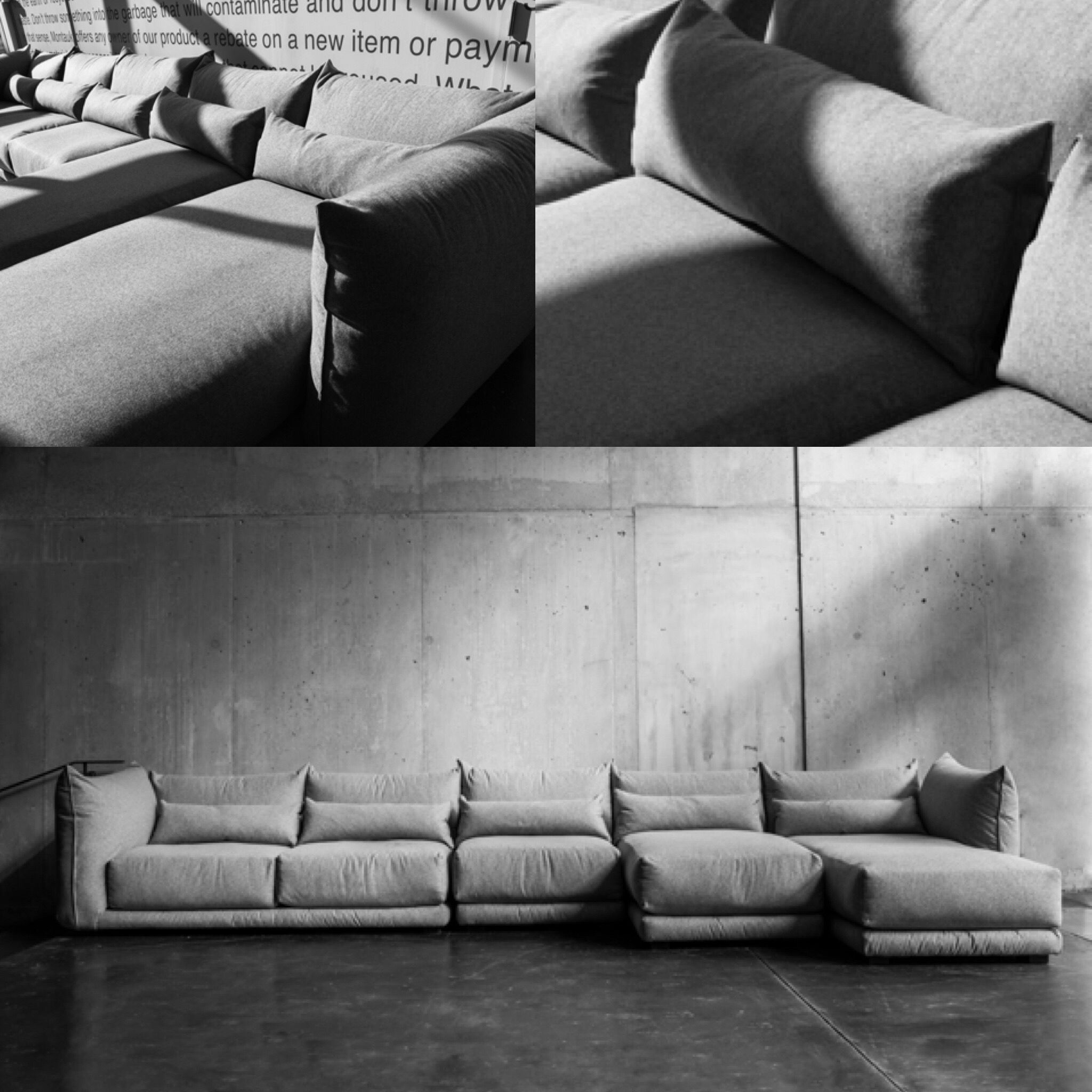 The new Jane Sofa by Montauk Sofa is our most comfortable sofa ...