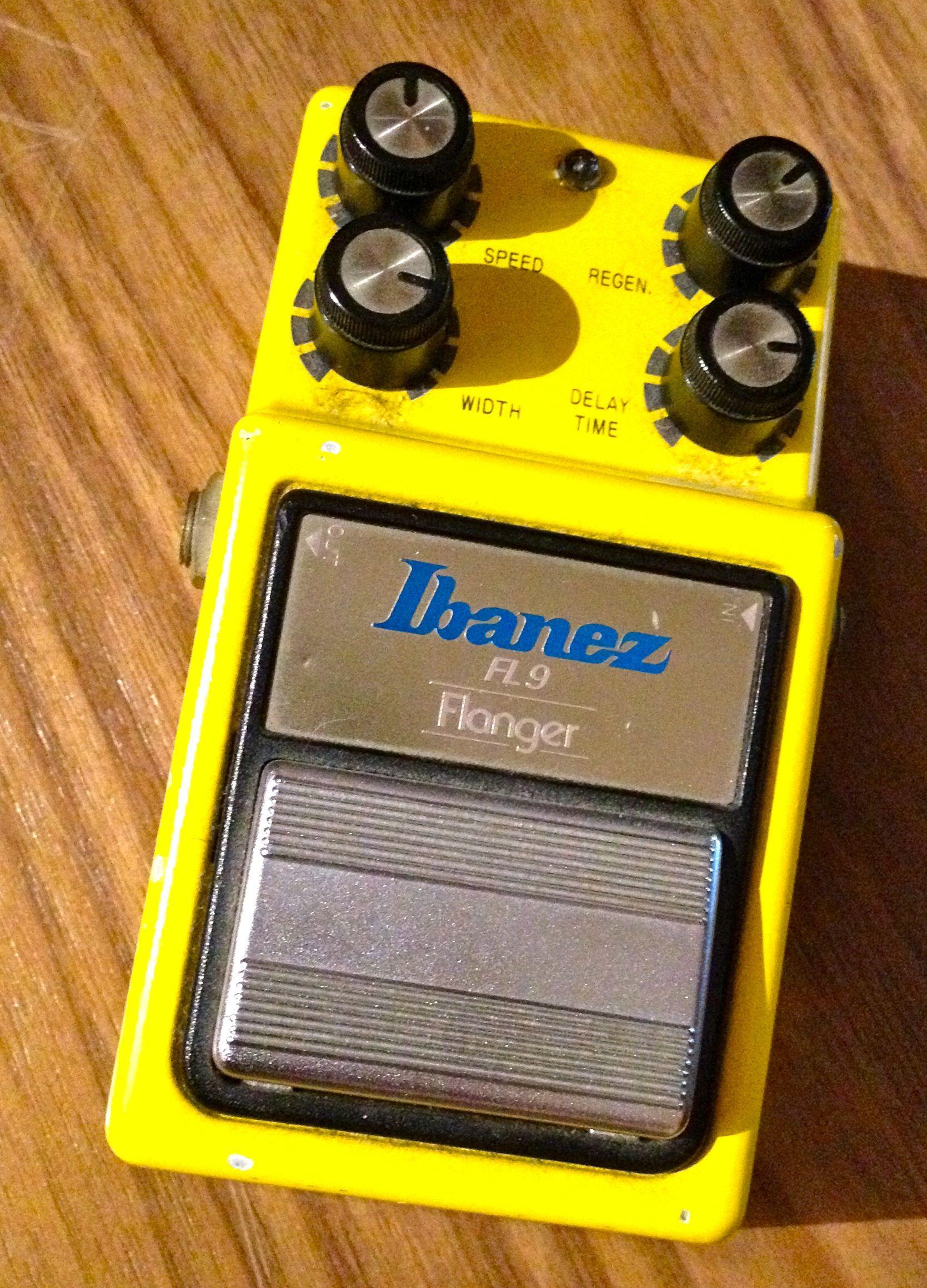 Ibanez FL9 Flanger (1980s) www.beliefspacestudio.co.uk