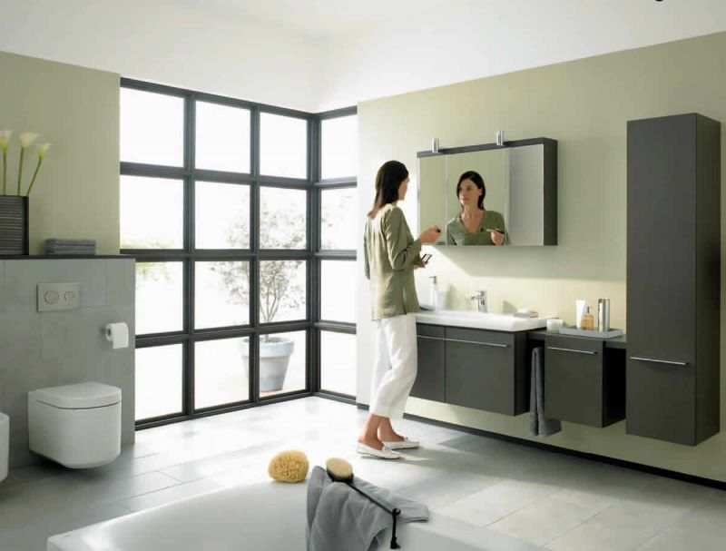 Ideal Standard Daylight Mirrored Wall Cabinet With Lights 1000mm Bathroom Cabinets From Uk Bathrooms Wall Cabinet Bathroom Cabinets Bathroom Bathroom Ca