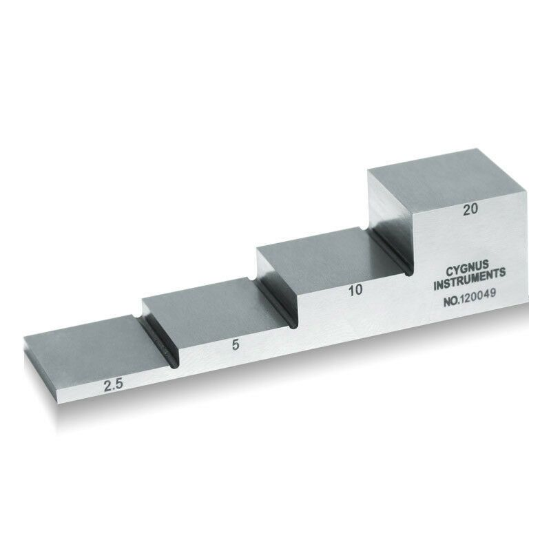 Yushi 1018 Steel Calibration Block For Ultrasonic Thickness Gauge 2 5 5 10 20mm Yushi Ultrasonic Metal Working Steel