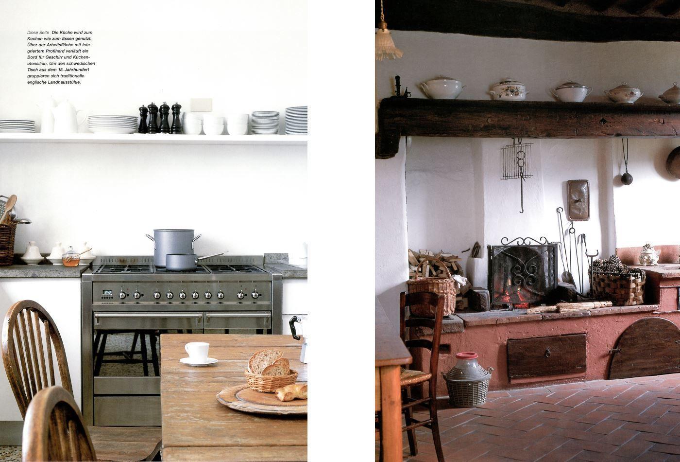 Echt italienisch - Landhäuser in der Toskana und in Umbrien, Wohnen ...