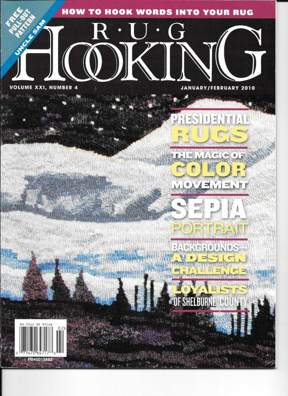 Rug Hooking Magazines Five From 2010