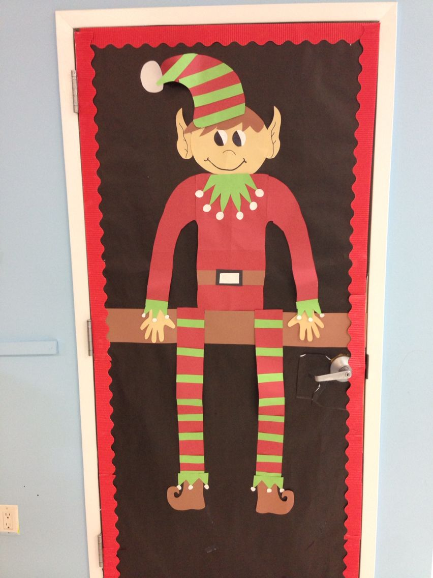 Elf On A Shelf Door Classroom Decor By Me Elf Door