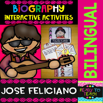 ENGLISH VERSIONYou will find a set of 4 different tasks to work on the biographies of Jose Feliciano. There are 4 interactive activities to be done:Interactive Task 1: Students have to search facts about the biography of this famous person and write those facts related to his/her early and family l...