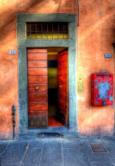 Siena Street By Clint Hudson Painted Doors Beautiful Doors Cool Doors