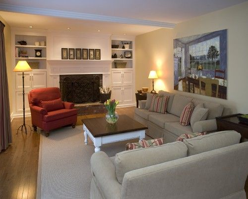 New Life to a Family Room! - traditional - family room - other metros - Decorating Den Interiors