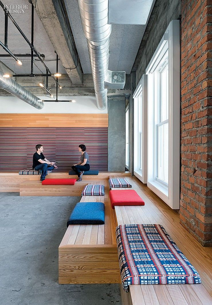 Fun Seating Areas Shout It Out Yelps San Francisco HQ By Studio O A