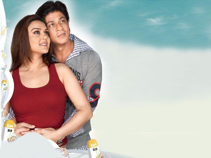 Preity Zinta & Shahrukh Khan