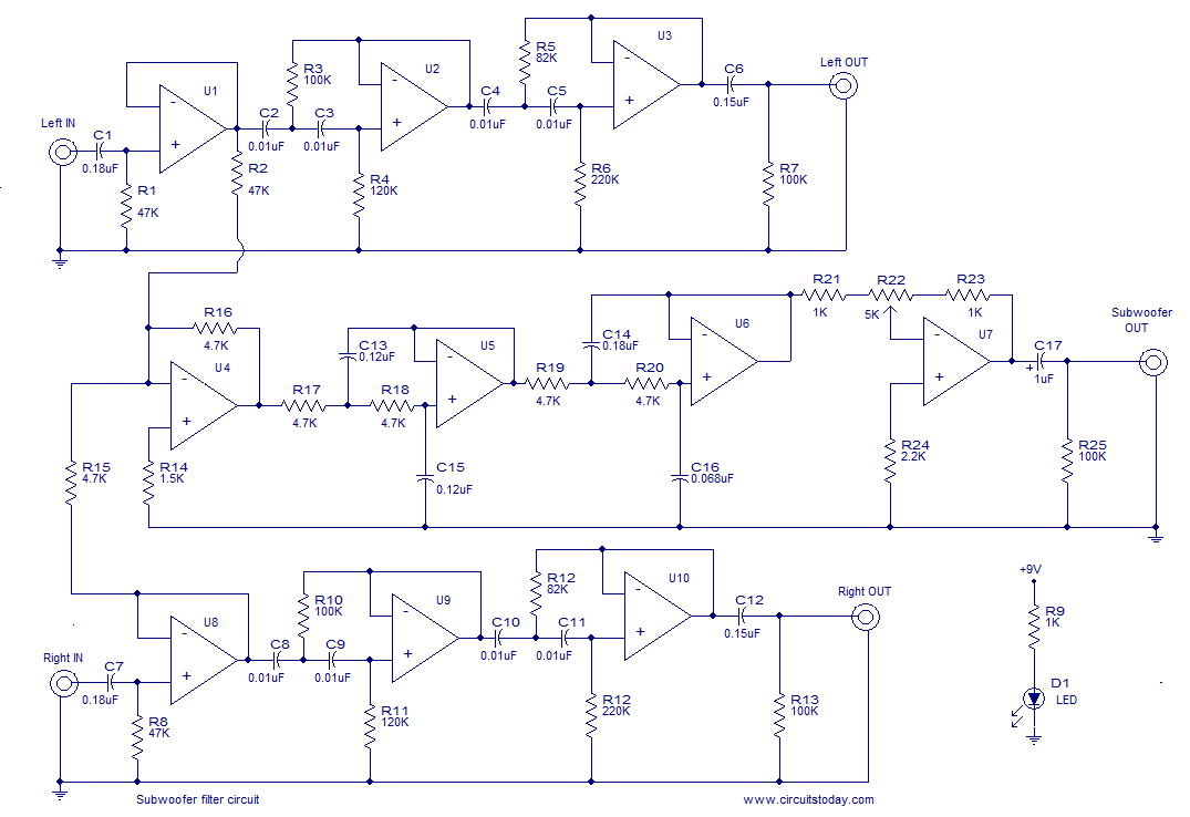 Description. Here is the circuit diagram of an opamp based ...