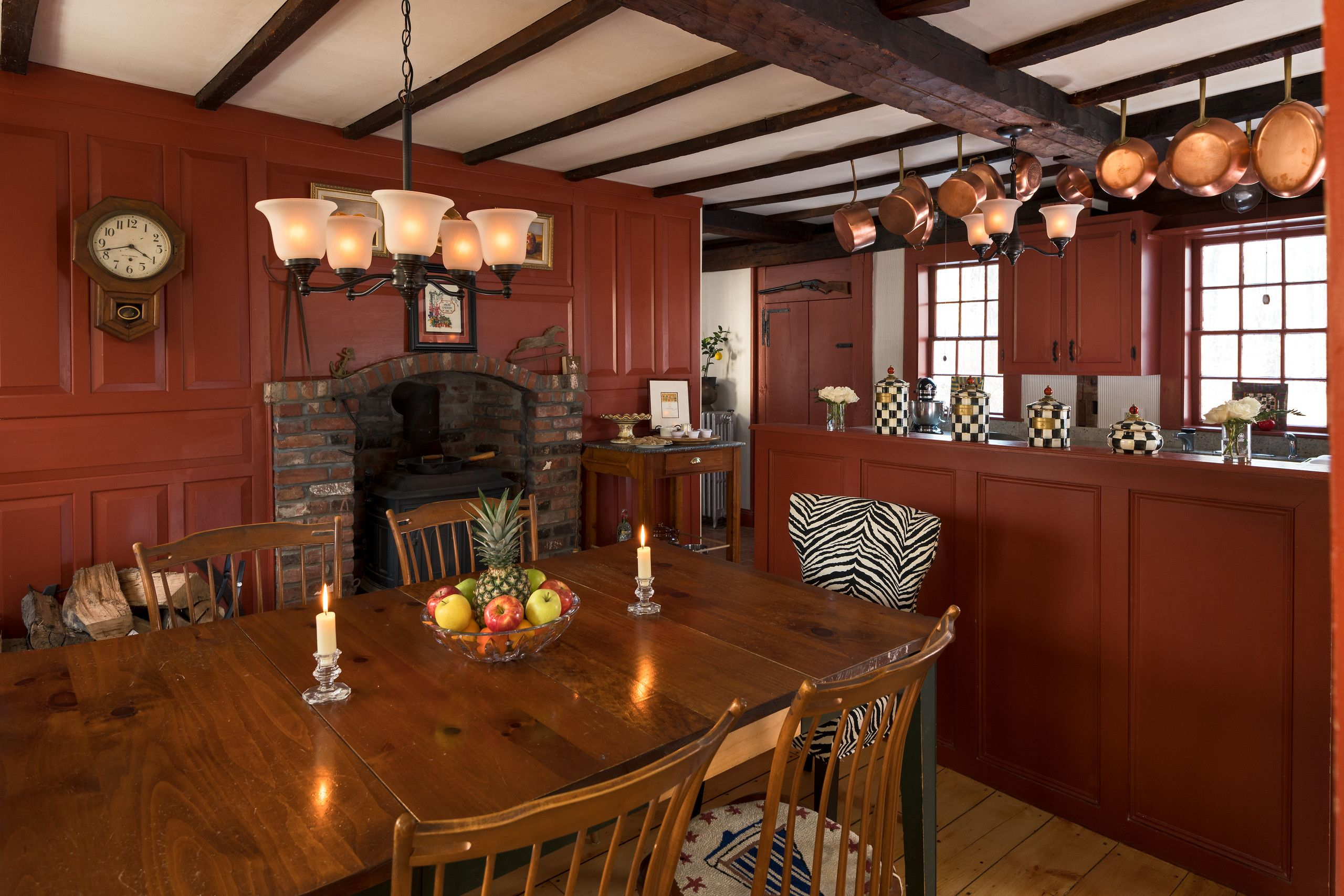 Kitchen Maine bed and breakfast, Romantic room, Bed and