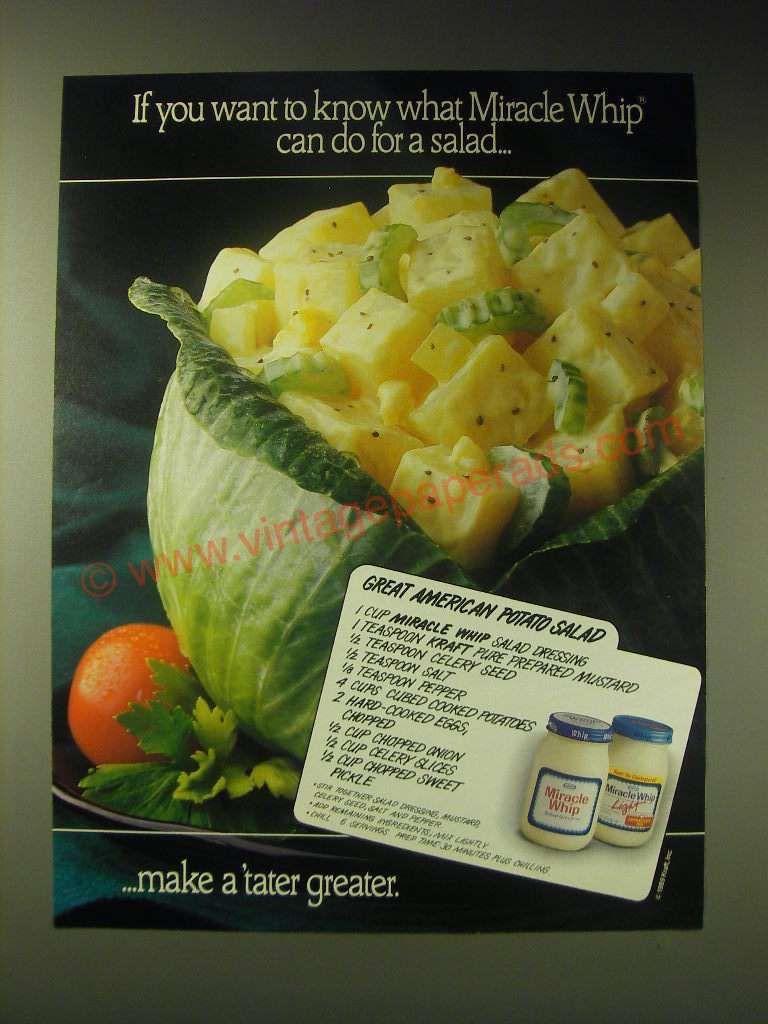 Kraft Foods Potato Salad Recipe