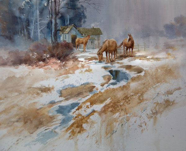 5 Art Composition Tips How To Simplify A Busy Painting Painting