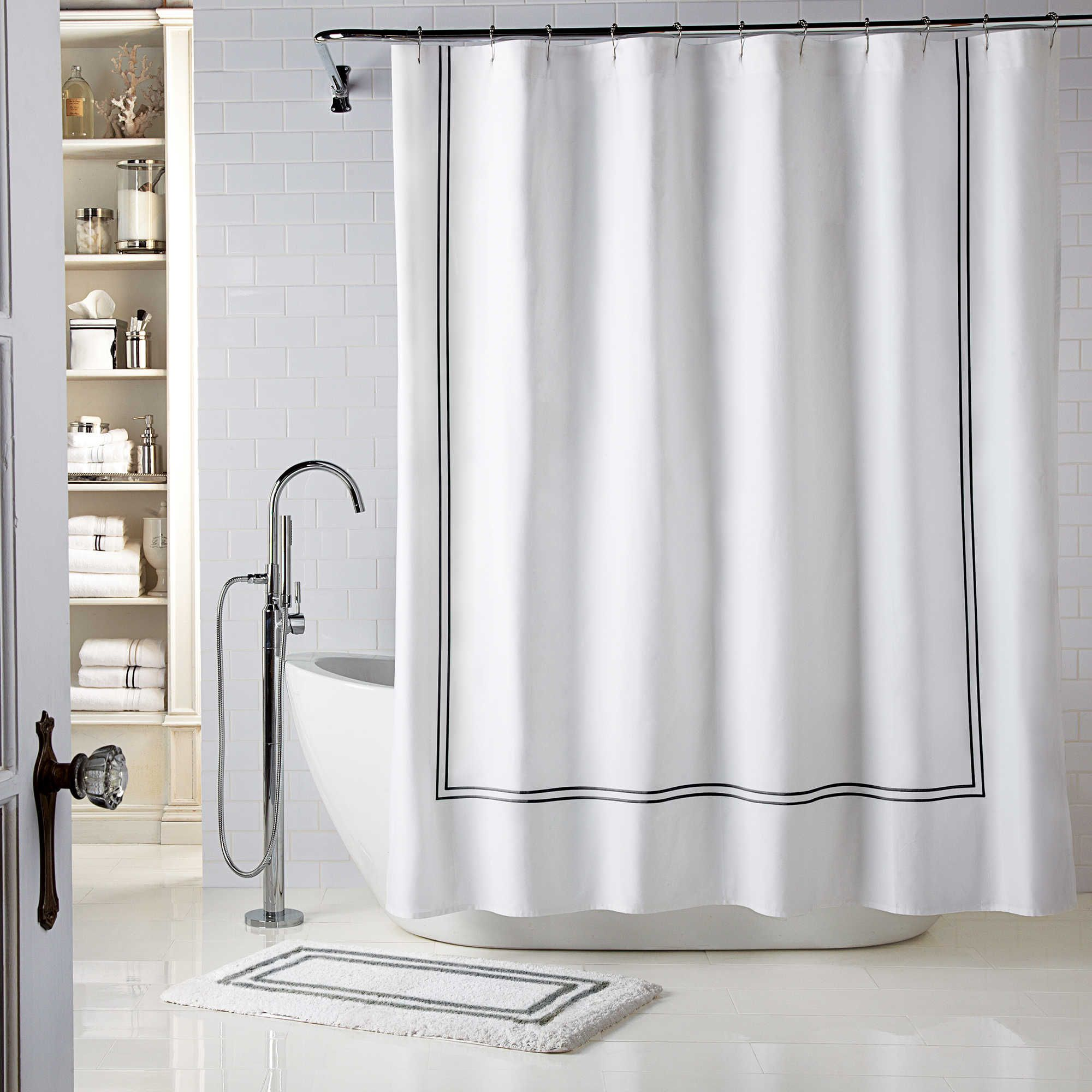 with double rods showe curtain ideas stall shower bathroom curved exciting decor rod strong black tension