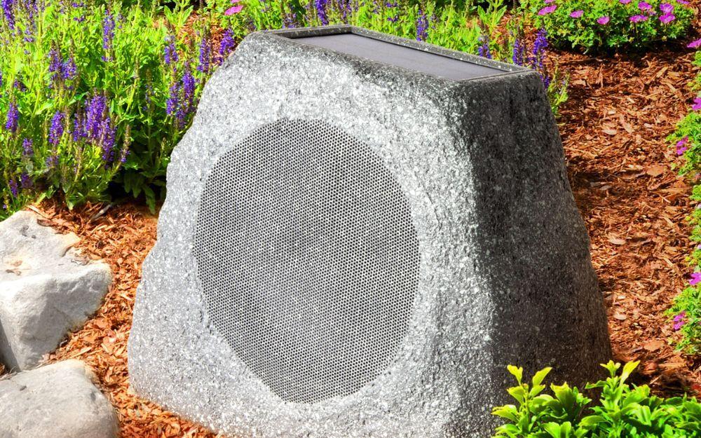 Ion Audio Powered Wireless Outdoor Speaker Each Gray Outdoor Speakers Wireless Outdoor Speakers Outdoor Bluetooth Speakers