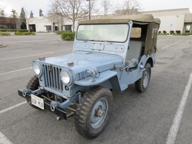 Navy Blues 1951 Willys M38 Radio Jeep Jeep Willys Willys Jeep