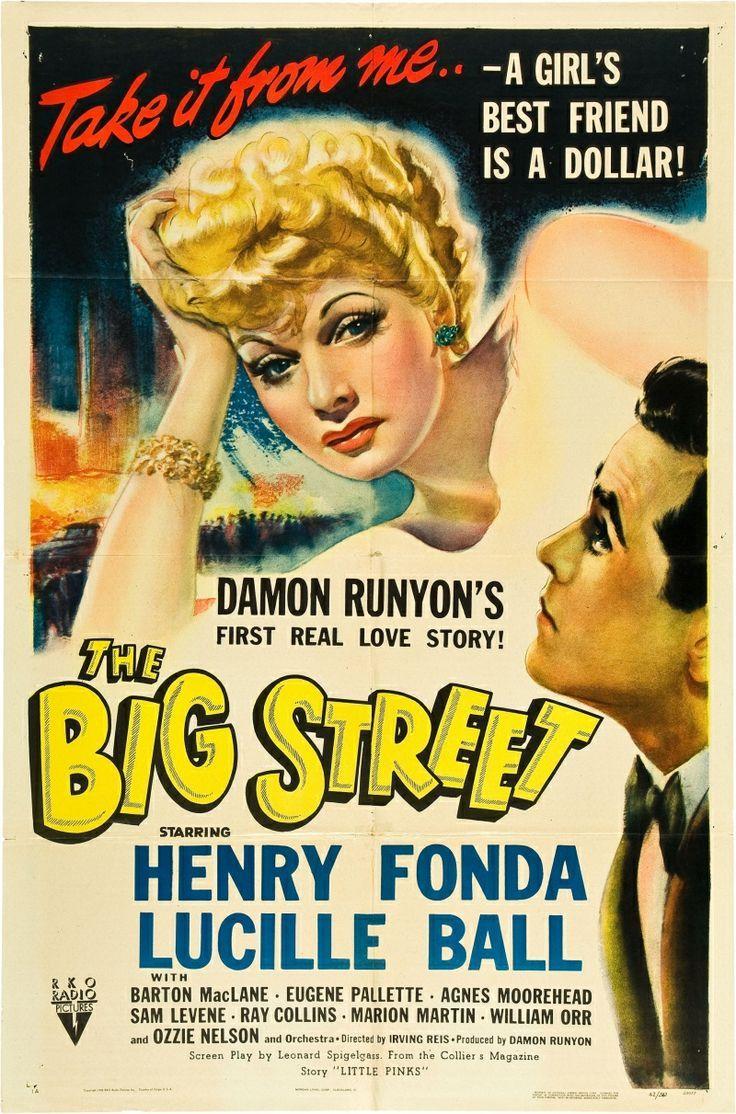 Su Última Danza (The Big Street), de Irving Reis, 1942