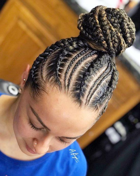 Braided Bun Hairstyles: A Guide to Perfection   Curly Craze #bunshairstylesforblackwomen