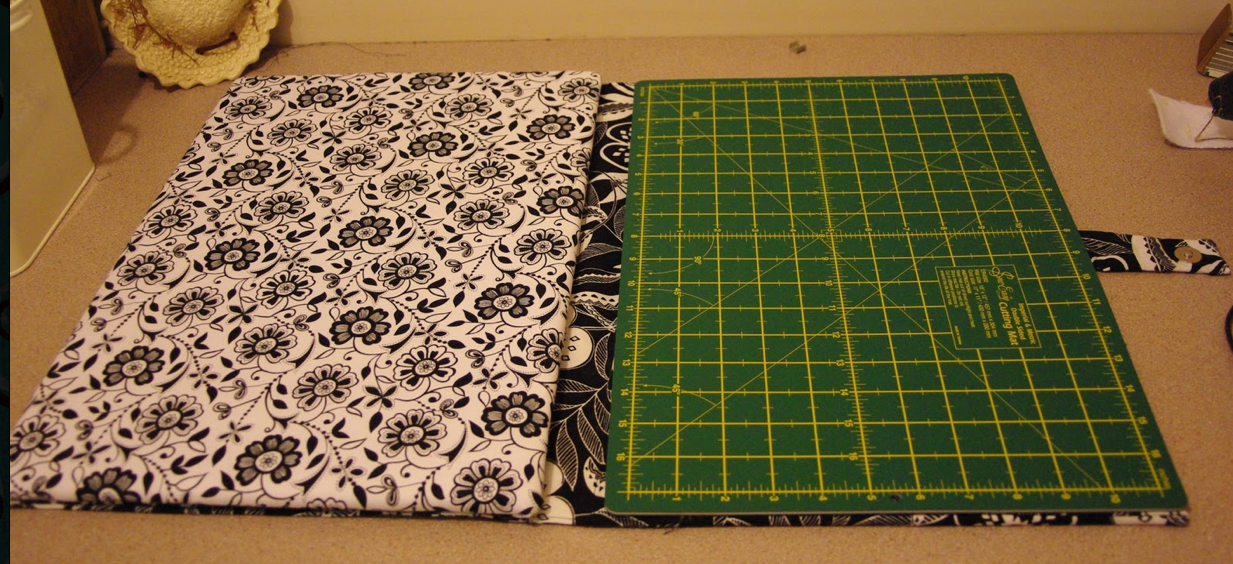 Quilt Girl-how to make your own cutting and ironing board for ... : quilted ironing mat - Adamdwight.com