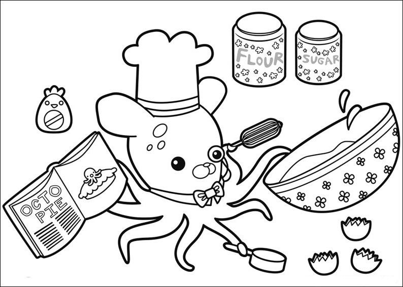 Octonauts Coloring Pages | Movies and TV Show Coloring Pages | Pinterest