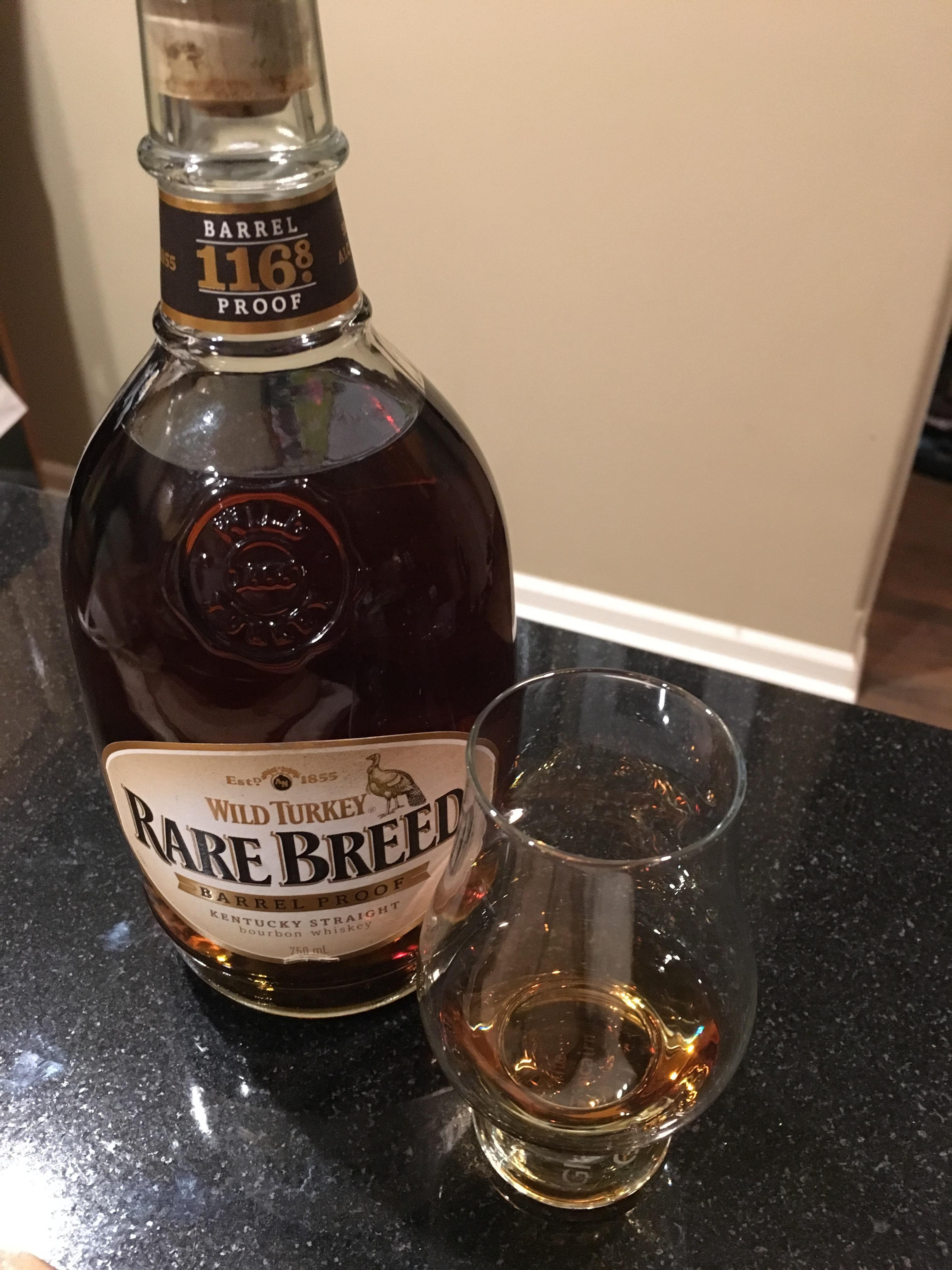 Wild Turkey Rare Breed 116.8 mini-review #bourbon #whiskey #whisky ...