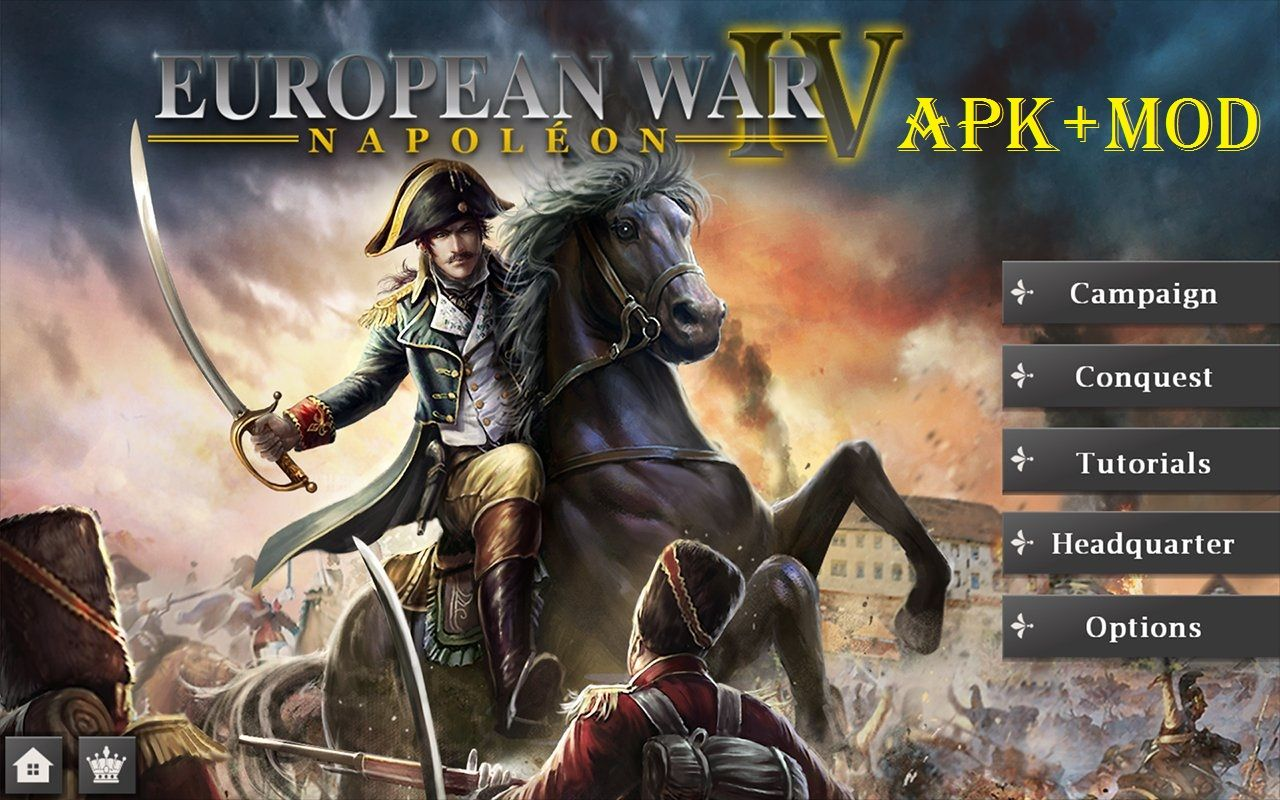 Download European War 4 Napoleon Mod APK | Cell Phone Games