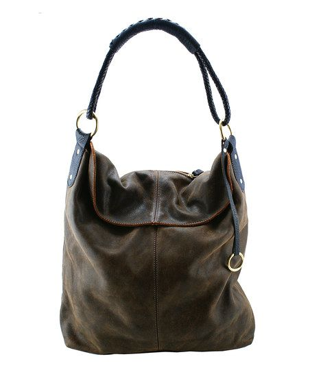 Cool Café  Chocolate Leather Tote