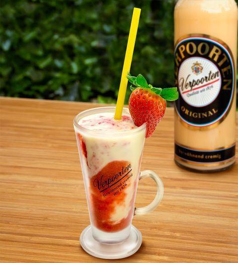 Erdbeer - Sommer - Smoothie - Cocktails und Longdrinks mit Eierlikör -