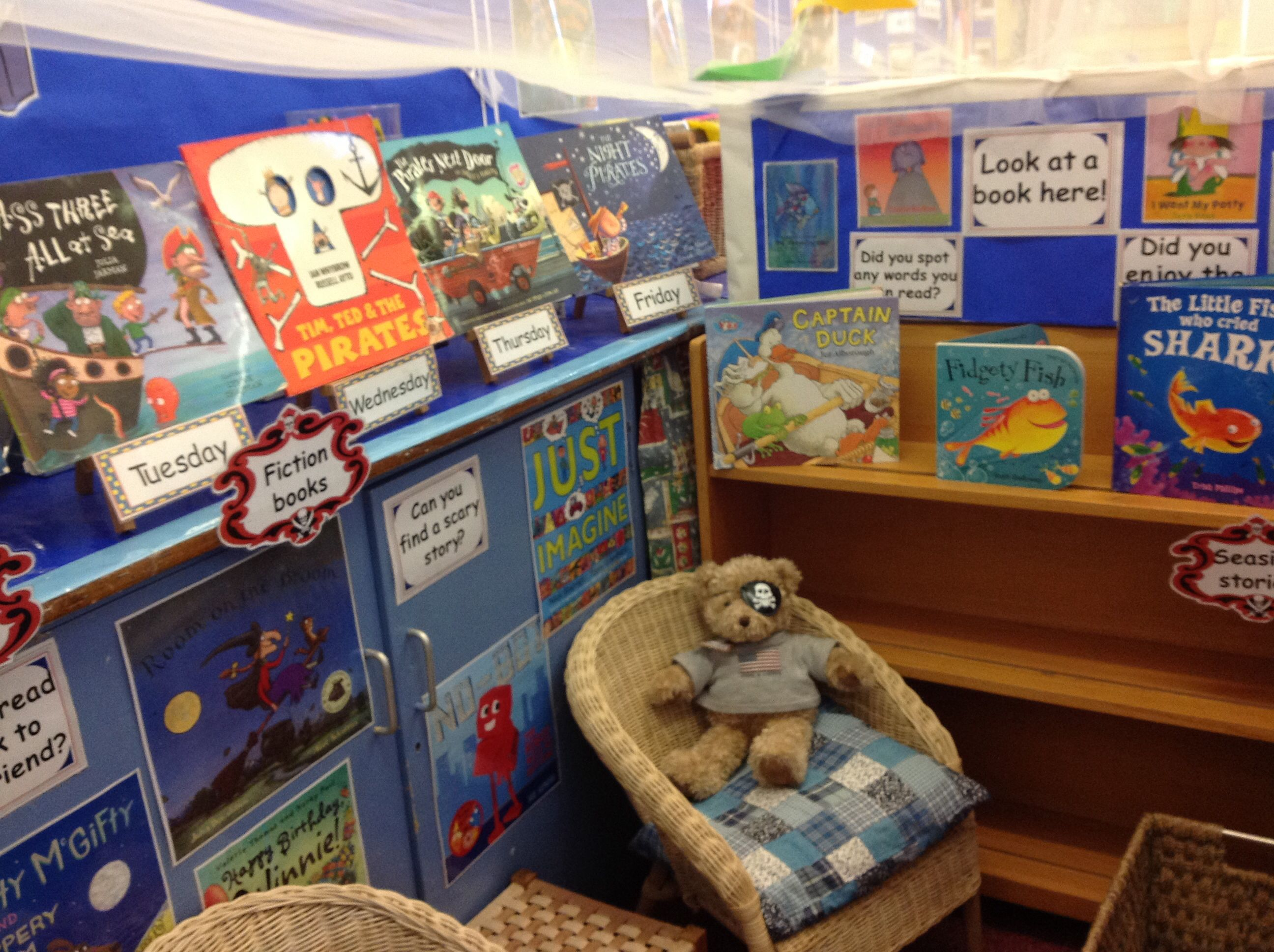Pirate And Seaside Themed Books Lh