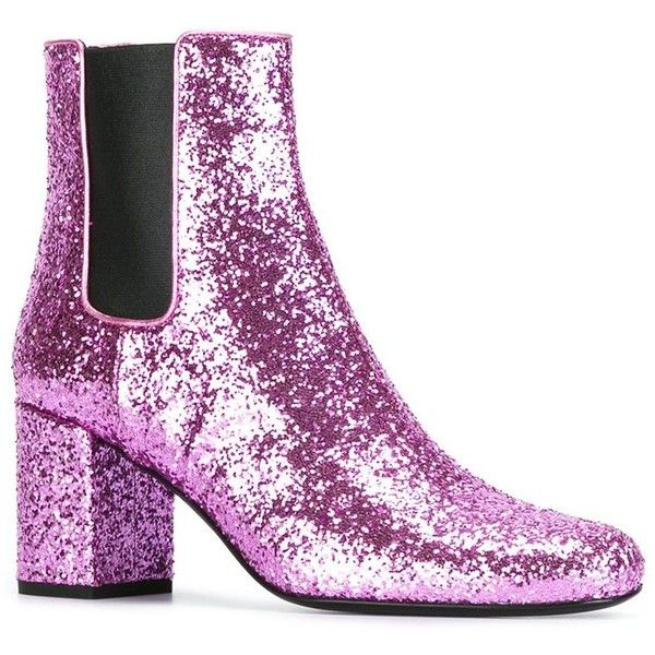 f4fdeaa7d948 Saint Laurent 'Babies 90' ankle boots (9,665 EGP) ❤ liked on ...