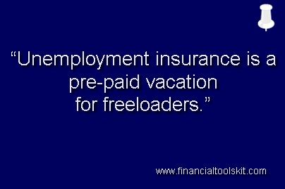 Unemployment Insurance Is A Pre Paid Vacation For Freeloaders