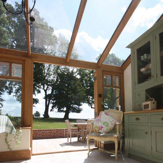 Porche cerrado acristalado decoraci n decoraci n pinterest porches decorar tu casa y es - Decorar un porche cerrado ...